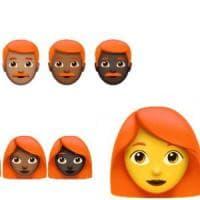 In chat: largo agli emoji con capelli rossi