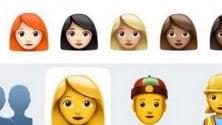 In chat: largo agli emoji con i capelli rossi