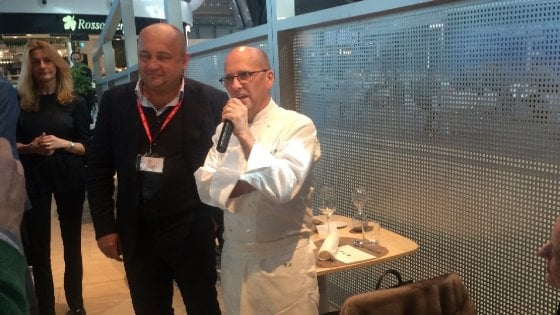 E a Fiumicino con Heinz Beck mangiare bene è questione di Attimi