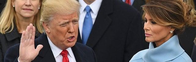 """Trump si insedia: """"Potere torna al popolo""""   video"""