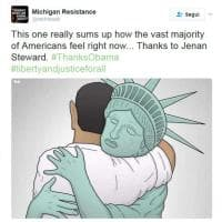 Obama, è mania sui social: dediche e messaggi per ringraziare l'ex presidente