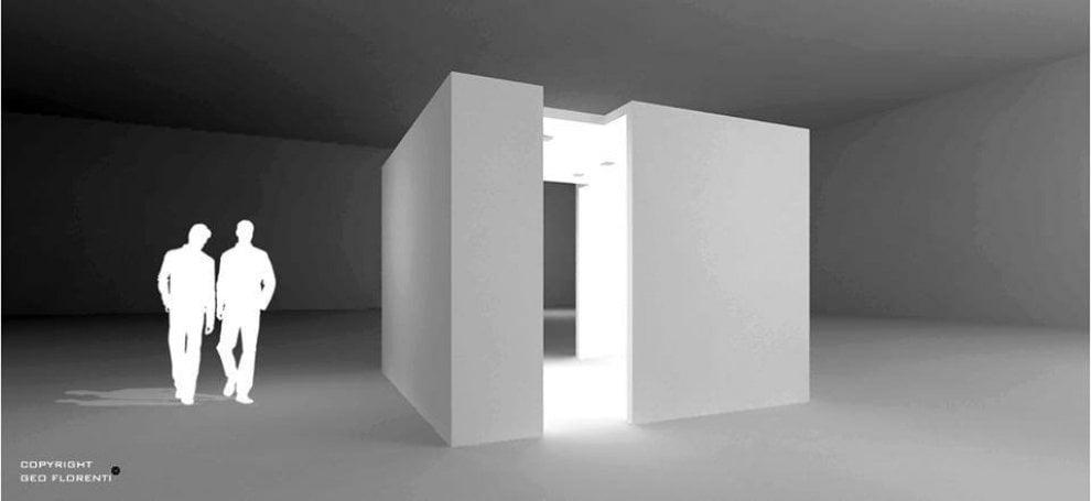 """Geo Florenti, l'artista della """"eco-luce"""" col suo CUBO al MoMa"""