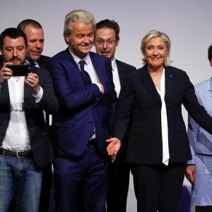 """A Coblenza vertice dei partiti della destra europei: """"Cacciare le Merkel, gli Hollande, i Renzi"""""""