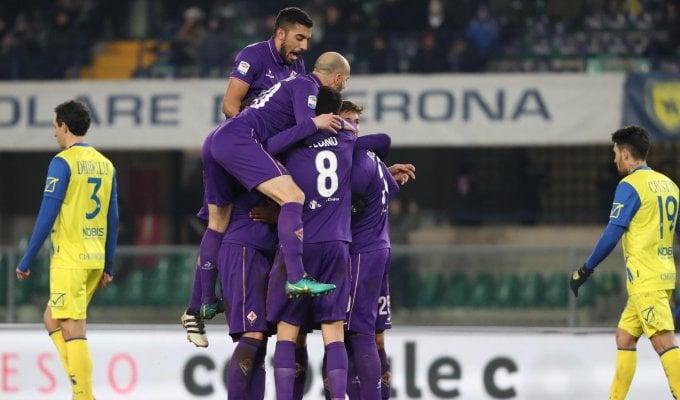 Chievo-Fiorentina 0-3: tris Viola, Chiesa prima gioia