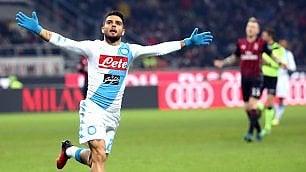 Spettacolo e gol a San Siro    ft    Milan ko, il Napoli è secondo