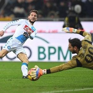 Le pagelle di Milan-Napoli: Insigne in formato Pibe, Gomez ha il mal di testa