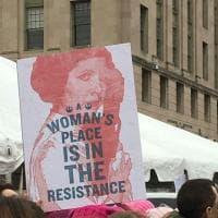 Marcia delle donne, uno dei simboli è la principessa Leila
