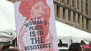 Le donne in marcia per i diritti nel nome della principessa Leila