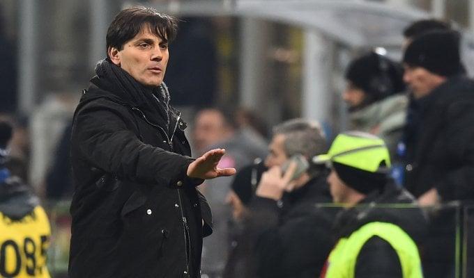 """Milan, Montella: """"Sconfitta immeritata"""". Galliani: """"Noi come Rocky"""""""