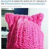 Women's March: in America e nel mondo tutti con il cappello 'Pussyhat'