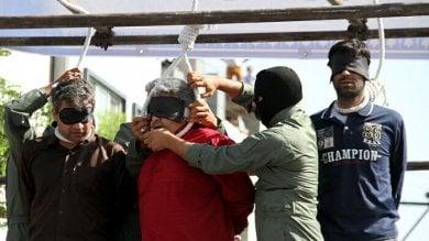 Iran, 31 persone impiccate  in soli quattro giorni