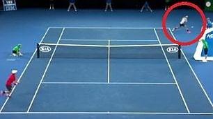 Federer, rovescio capolavoro
