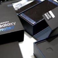 Samsung: le batterie erano la causa degli incendi del Galaxy Note 7