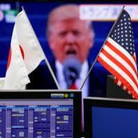Mercati deboli, dopo il discorso di insediamento di Trump. Crolla Tokyo