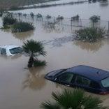 Nubifragio su Sicilia e Calabria  un morto nel Palermitano   foto
