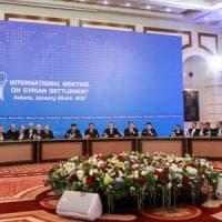 Siria, al via i negoziati di Astana