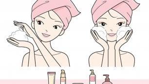 Struccarsi per riparare la pelle