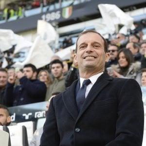 Juventus, l'attacco dei cinque big: piace il nuovo Allegri che rischia