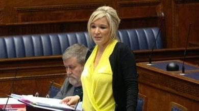 Gb, un'altra donna ai vertici della politica  Michelle O'Neill, 40 anni, leader Sinn Fein
