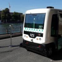 Parigi, via alla sperimentazione dei bus a guida autonoma