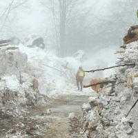 Rigopiano, la distruzione nelle immagini del Soccorso alpino