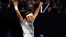 Federer in semifinale derby con Wawrinka Avanti anche Venus