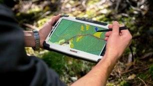 Andar per funghi o in bici con un'app: è la smart forest /   Foto  In Trentino
