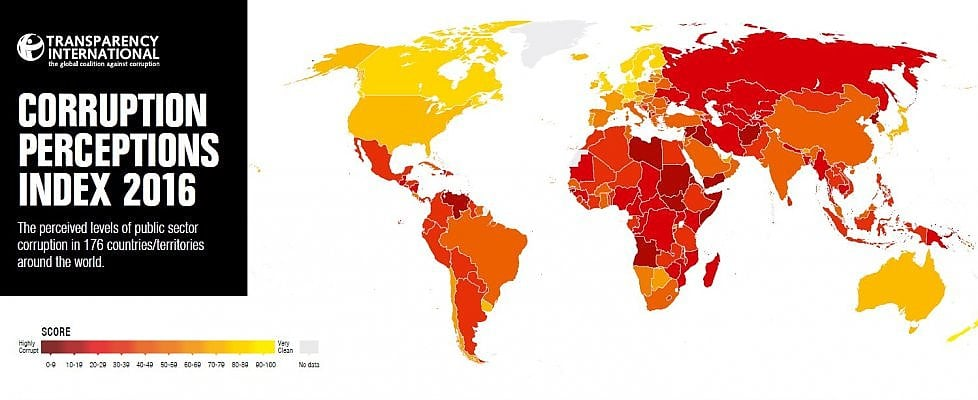 Corruzione nel pubblico, l'Italia migliora ma la pagella resta insufficiente