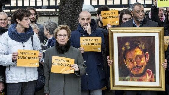 """Un anno senza Giulio Regeni. Gentiloni e Grasso: """"Impegno per la verità"""""""