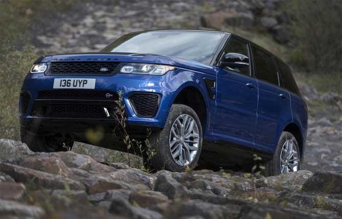 Range Rover Sport SVR, high performance su tutte le superfici