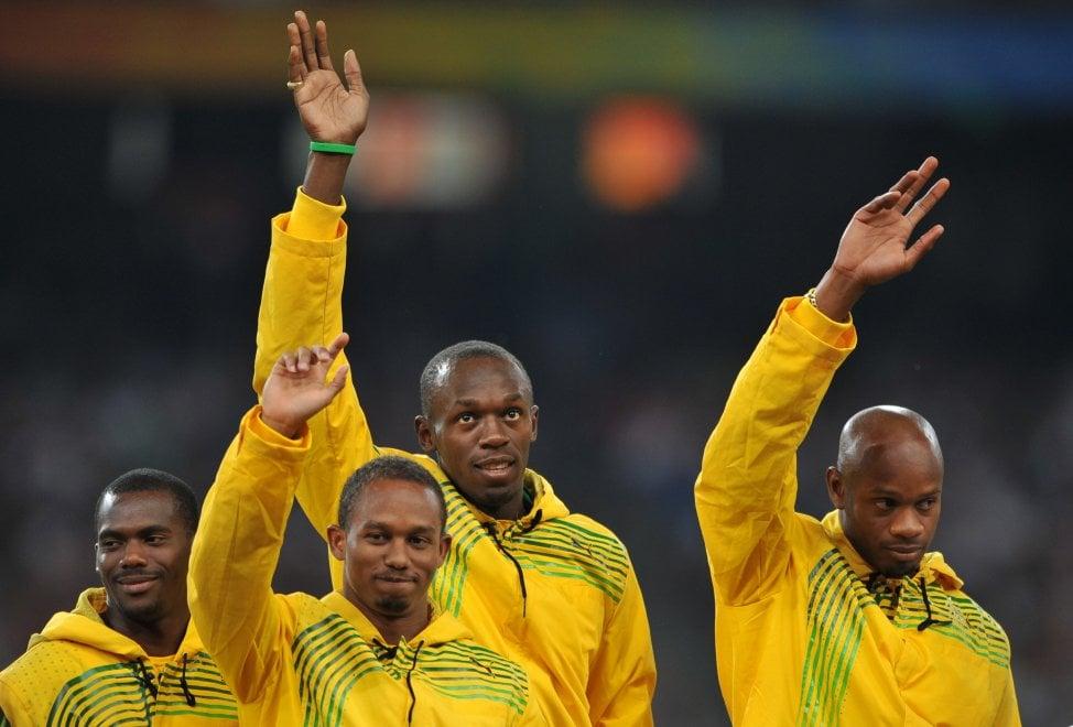 Bolt perde l'oro di Pechino 2008 della staffetta 4x100