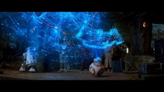 Gli ologrammi di Guerre Stellari più vicini alla realtà