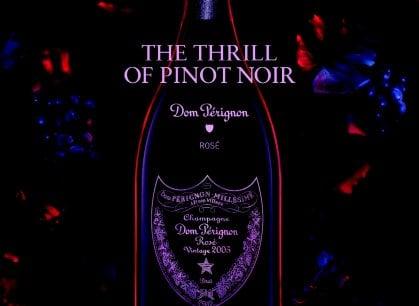 Il Dom Perignon Rose 2005 si presenta. E da vera star, lo fa a teatro