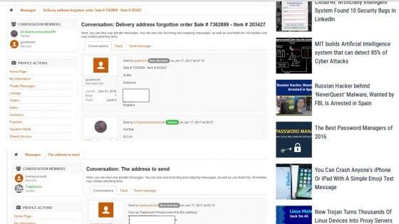 Duro colpo al dark web: hackerato AlphaBay, il più grande negozio illegale