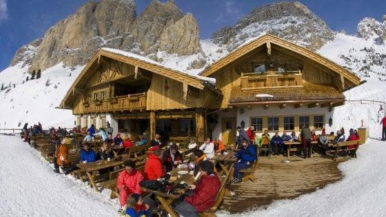 Trentino, un rifugio sotto le stelle