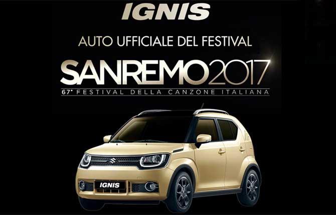 """Al via il tour """"#SiamoSanremo"""" della Suzuki Ignis"""
