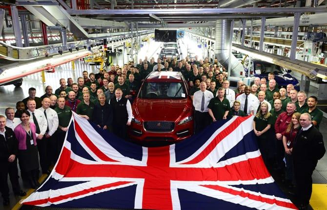 Jaguar Land Rover, produzione alle stelle