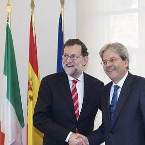 """Gentiloni: """"Rispetto l'Europa, ma no a manovre depressive"""""""