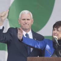 Usa, il vicepresidente Pence alla Marcia anti aborto:
