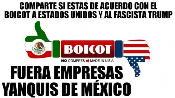 L'orgoglio messicano reagisce a Trump: boicottati i prodotti americani