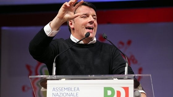 """Pd, Renzi: """"Arrivare al 40% per evitare il caos"""". E snobba D'Alema: """"Non è lui l'avversario"""""""