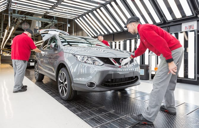 Mercato UK, Nissan alle stelle
