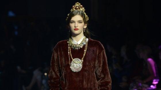 L'omaggio alla Scala e all'opera lirica di Dolce&Gabbana