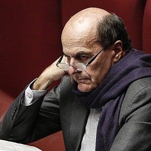 """Scissione Pd, Bersani: """"Non minaccio e non garantisco nulla"""""""
