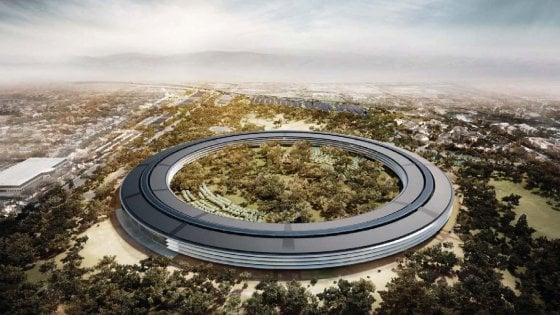 "Apple Campus 2, ""l'astronave"" di Steve Jobs è quasi pronta"