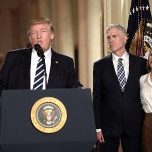 Usa, Trump sceglie il conservatore Gorsuch per la Corte suprema