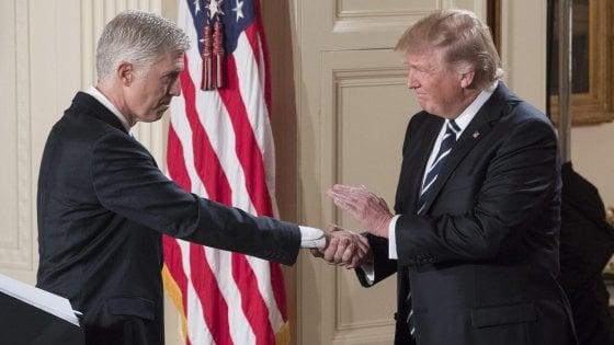 Usa, Trump blinda anche il terzo ramo del potere