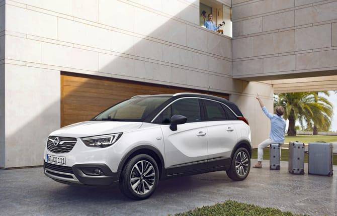 Opel Crossland X, il giorno del debutto