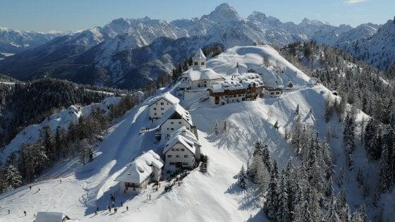 Sciare sulle Alpi Giulie è bello e conviene