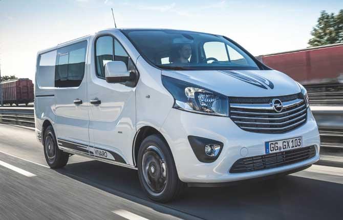 Vivaro Sport, stile e design secondo Opel